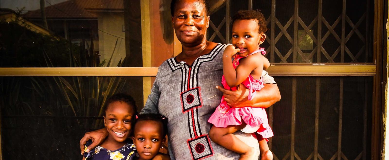Host mom from Ghana.